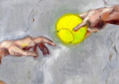 "Michelangelo ""Creation of Man"""