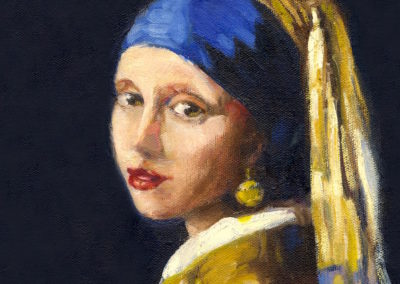 "Vermeer ""Girl with the Pearl Earring"""