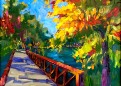 Margie Moss Impressionist Paintings Crystal Bridges Rogers
