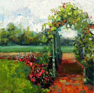 Margie Moss Impressionist Paintings Arbor Gilcrease Museum