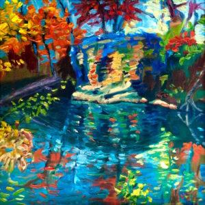 Margie Moss Impressionist Paintings Baptism