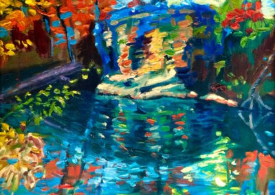 Margie Moss Impressionist Paintings Baptism