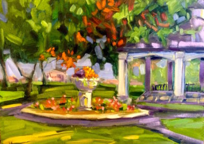 Margie Moss Impressionist Paintings Centennial Park Carthage