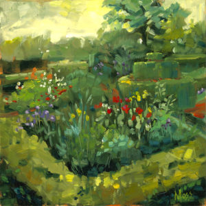 Margie Moss Impressionist Paintings Gilcrease Museum
