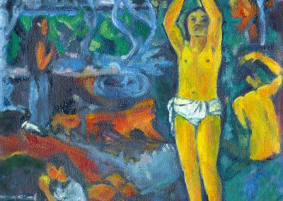 "Gaugin's ""Where Did We Come From…"""