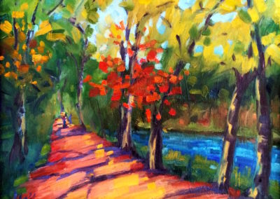 Margie Moss Impressionist Paintings