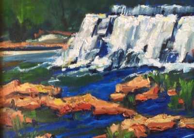 Margie Moss Impressionist Paintings Grand Falls