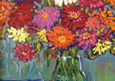 Bouquet of Zinnias