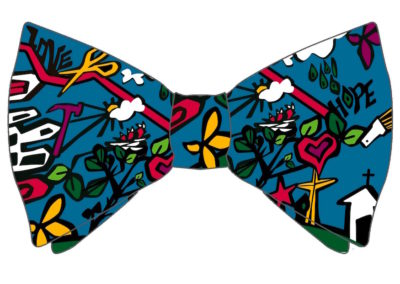 Margie Moss Impressionist Paintings Bowtie for a Cause