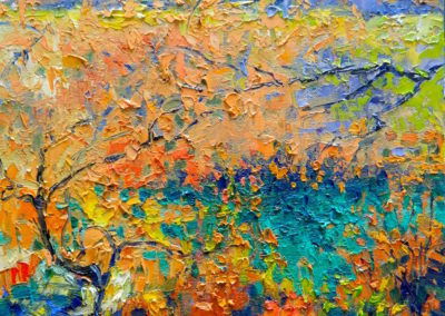 Margie Moss Impressionist Paintings Shoal Creek