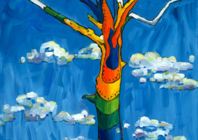 Margie Moss Impressionist Reproductions Spirit Tree