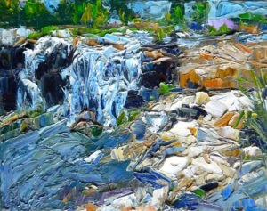 Margie Moss Impressionist Paintings Falls