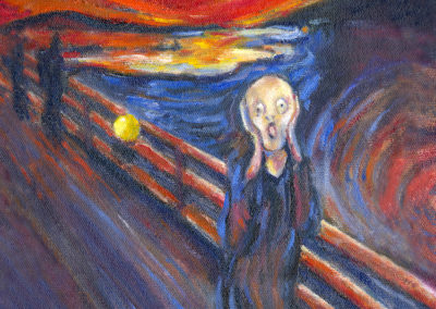 Margie Moss Impressionist Paintings Munch The Scream