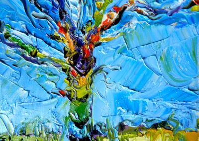 Margie Moss Impressionist Paintings Spirit Tree