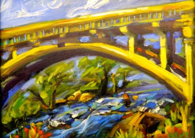 Margie Moss Impressionist Paintings Bridge