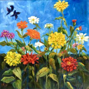 Margie Moss Impressionist Paintings Swallowtails