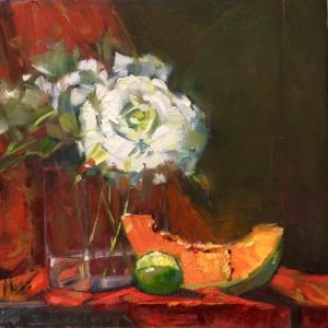 Margie Moss Impressionist Paintings Cantaloupe