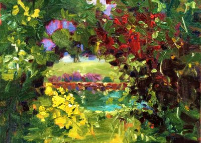 Margie Moss Impressionist Paintings Abstract